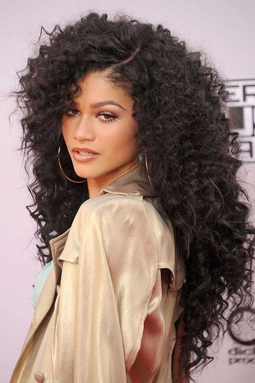 Curly Hairstyle Amusing Having Long Hair Gives You So Many Styling Choices This Year Curly