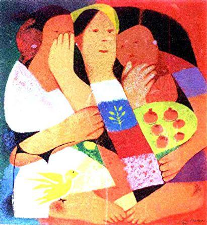 Mauro Malang Santos Three Women Philippine Art Art Painting Beautiful Art