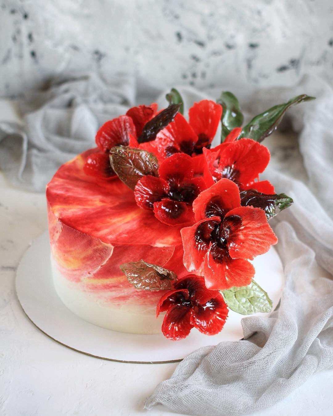 Маки торт картинки