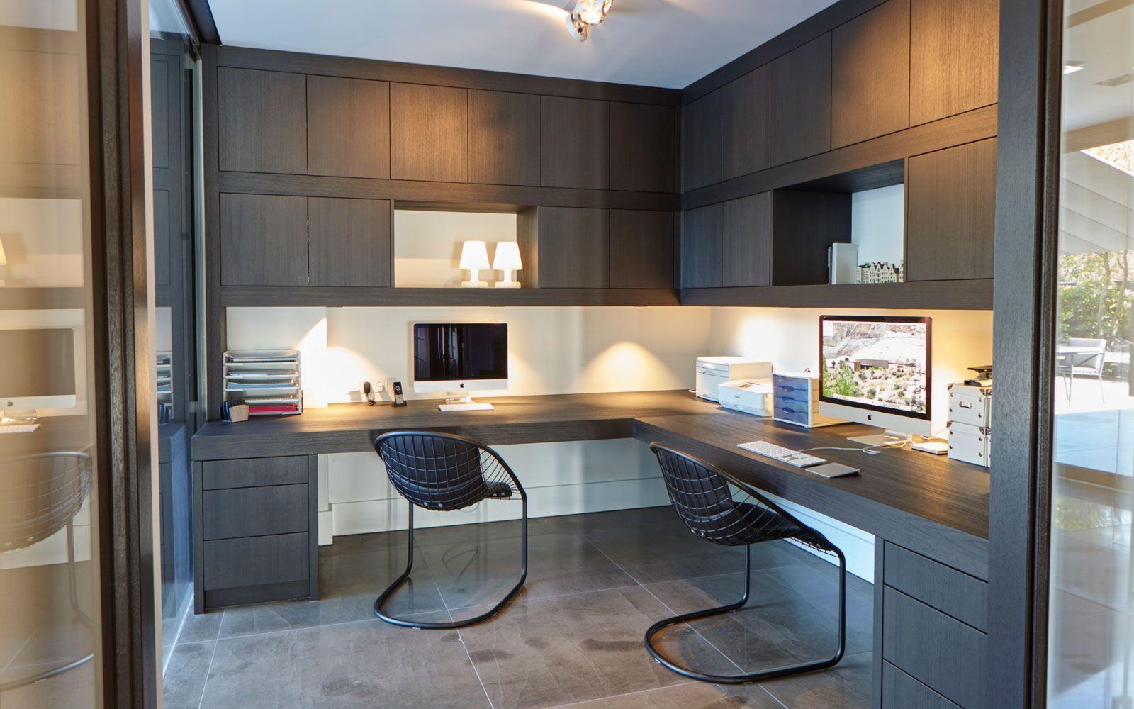 Ultramoderne villa interieur home office living