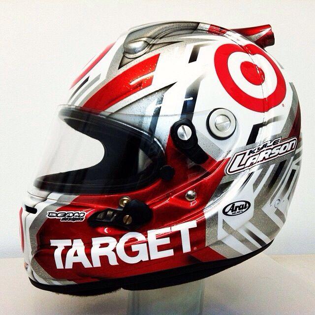 Kyle Larson Sprint Cup Nascar Helmet Cool Motorcycle Helmets Motorcycle Helmet Design Nascar Helmet