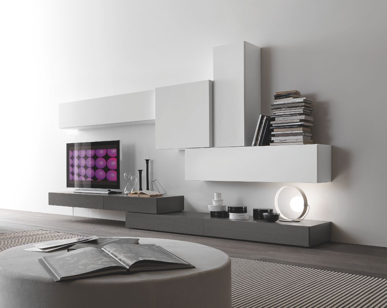 Modus by Presotto @ Top Interieur | Wall units | Pinterest | Living ...