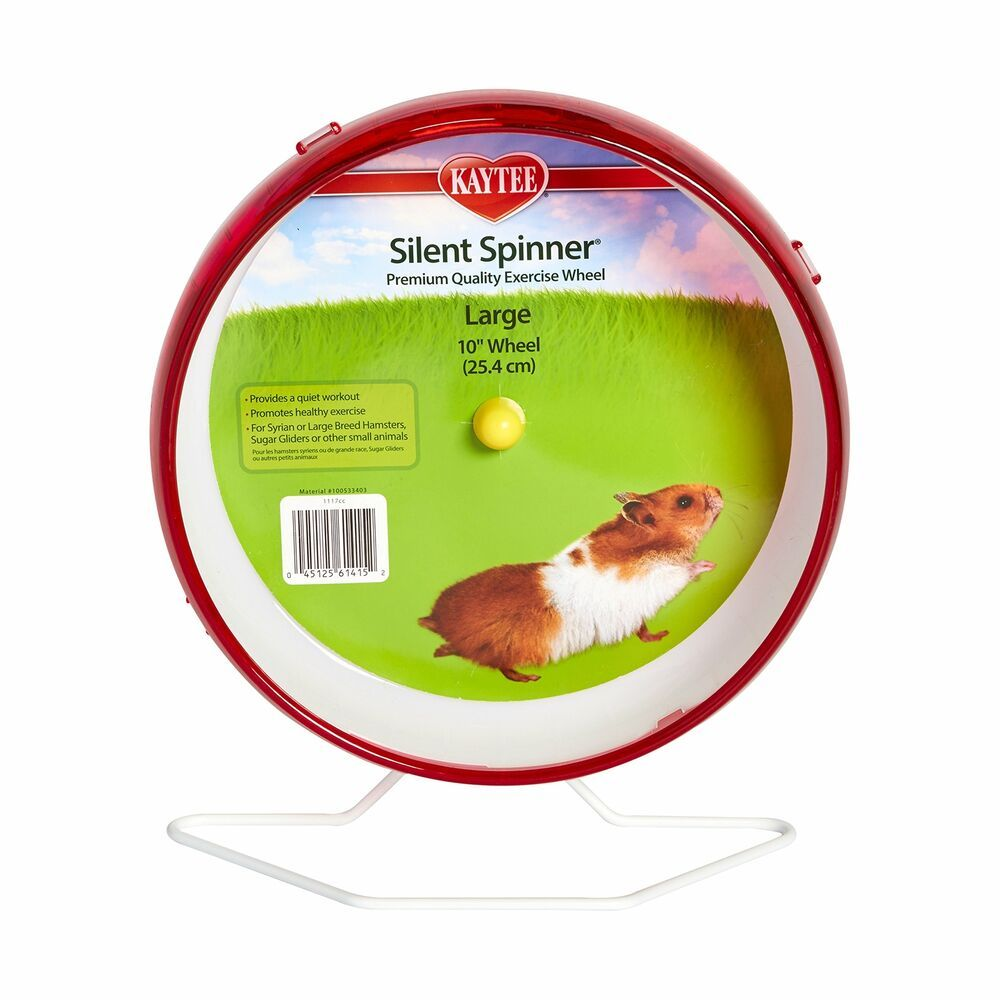 Details About Hamster Silent Spinner 10 Inch Exercise Wheel Colors Vary New In 2020 Exercise Wheel Syrian Hamster Big Hamster Cages