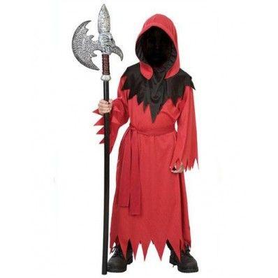 $2199 --Boys Red Faceless Ghost Vampire Costume Halloween - halloween ghost costume ideas