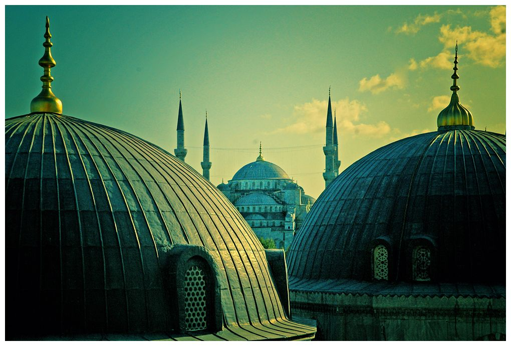 Blue Mosque by vastavnic.deviantart.com on @deviantART