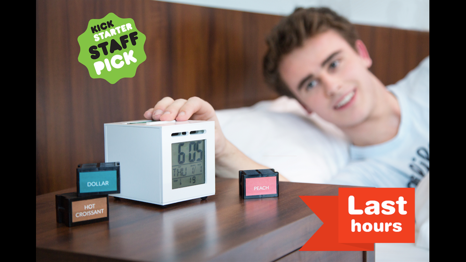The World's First Olfactory Alarm Clock, Invented To Make
