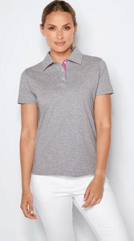 "Damenpoloshirt ""Anne""<br />Single Jersey"