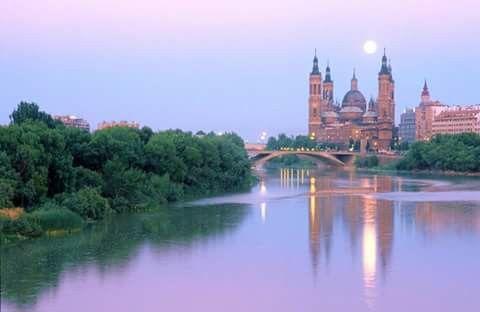 Vistas de Zaragoza España