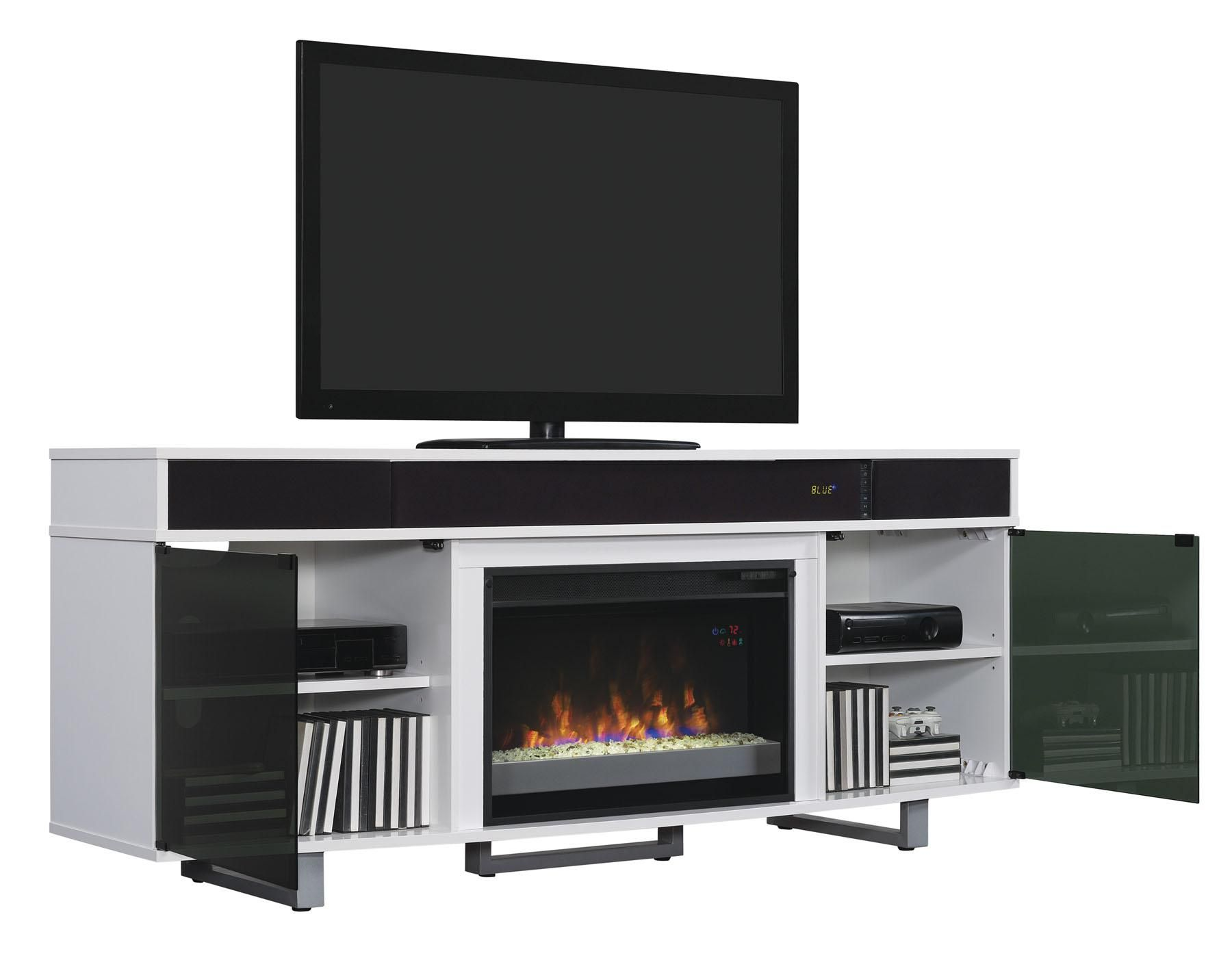 Amazon Com Classicflame 26mms9626 Nw145 Enterprise Tv Stand With