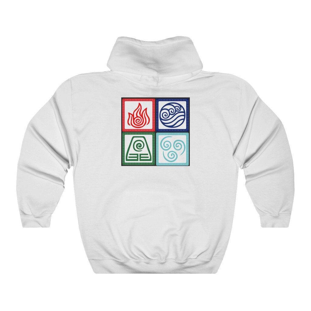 Avatar the last airbender hoodie etsy in 2020 making