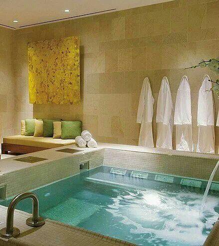 Spa bath, anyone?