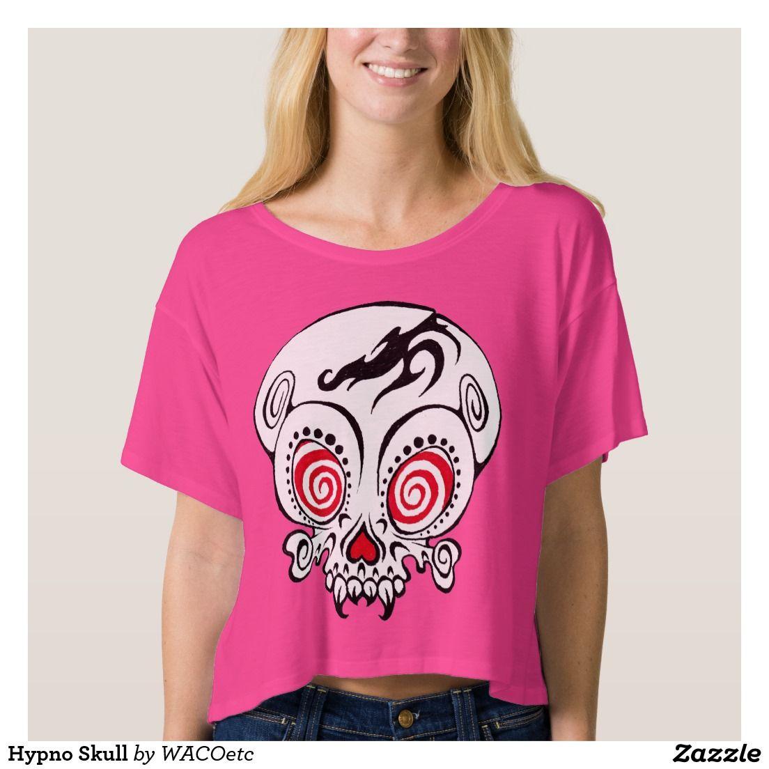 Hypno Skull Shirts