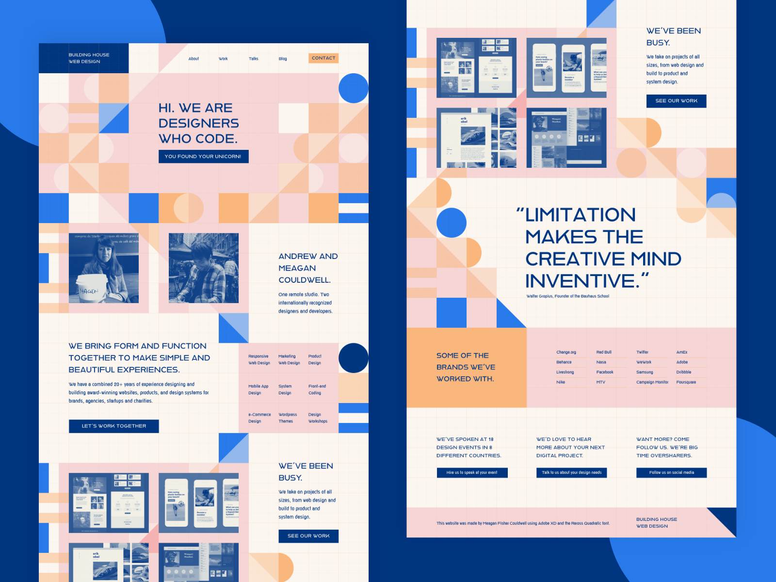 Adobe Hidden Treasures Design Portfolio Website Design Web Development Design Web App Design