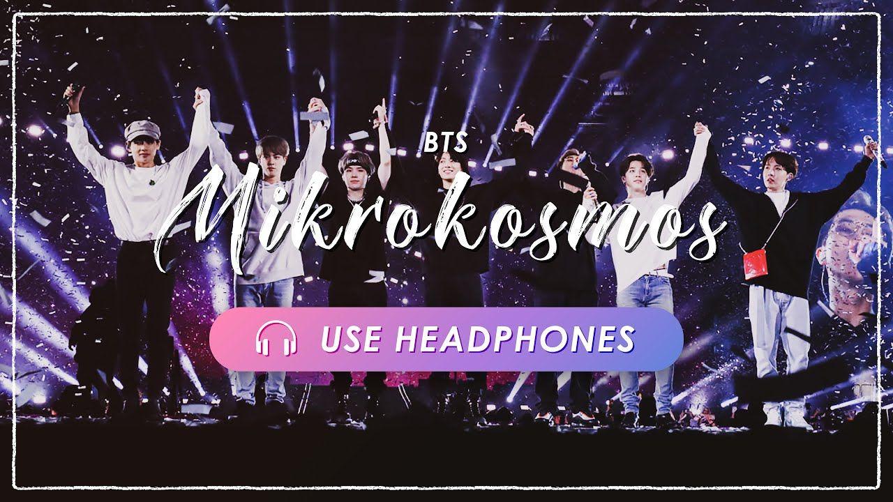 [8D + LIVE] BTS Mikrokosmos CONCERT EFFECT💿 [USE
