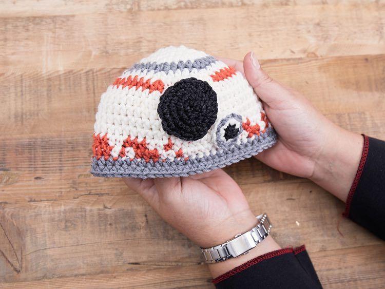 Tutoriales DIY: Cómo hacer un gorro de punto para bebé con el robot ...