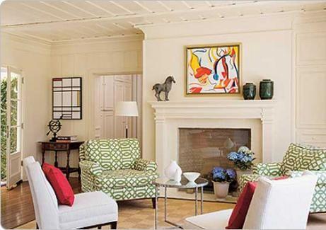 Sala de estar r stica com lareira salas pinterest for Mobilia emilia