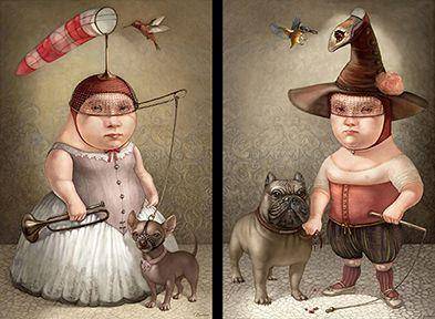 Tanya Doskova ART, Magical Realism, Таня Доскова, Изкуство