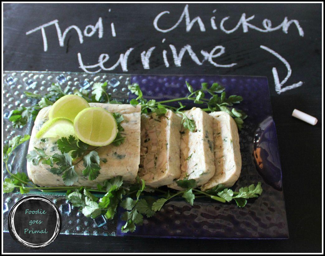 Thai Curried Chicken Terrine Chicken terrine, Foodie