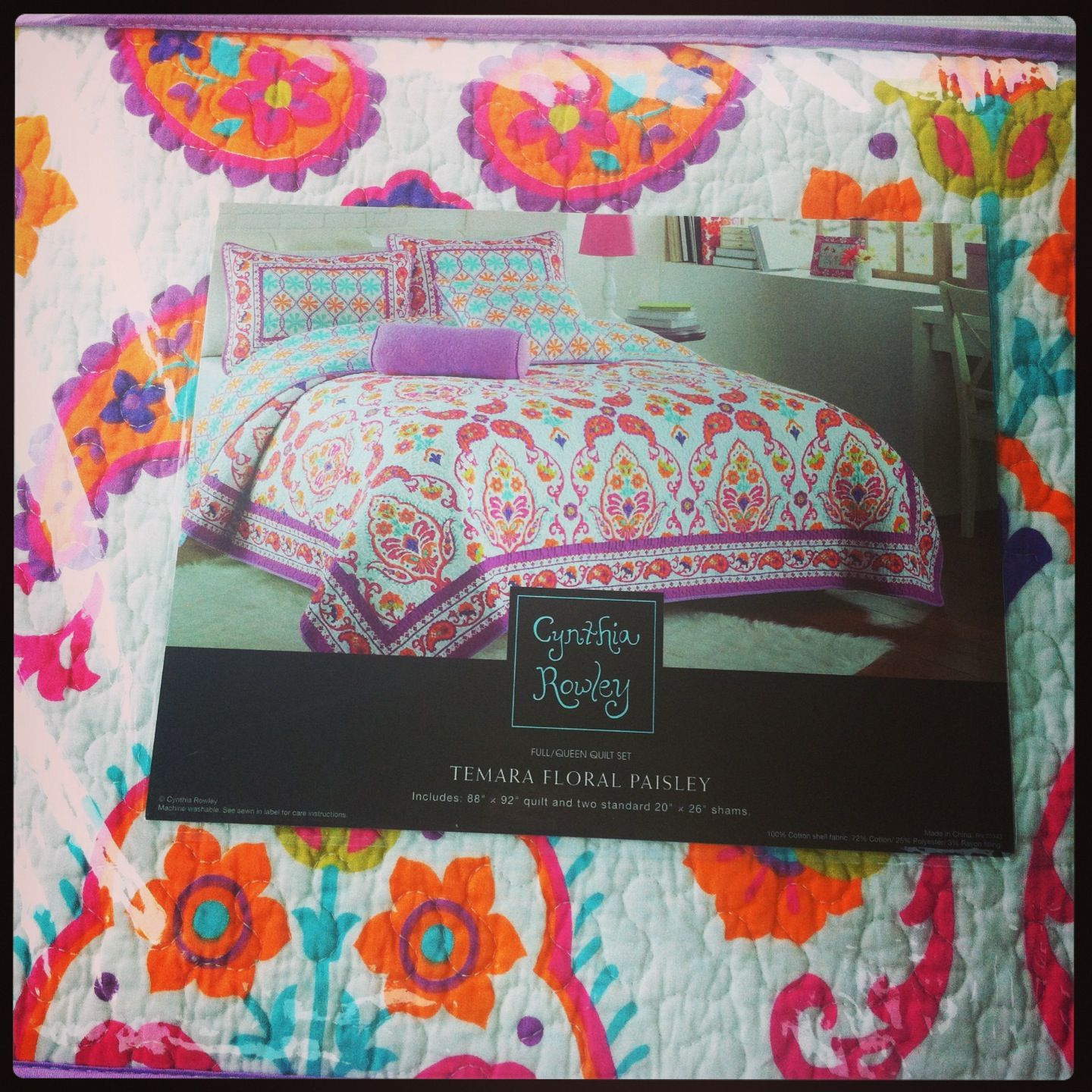Cynthia Rowley Bedding Found At Tj Maxx For A Bargain Purple Comforter Design Your Own Bathroom Cynthia Rowley Bedding