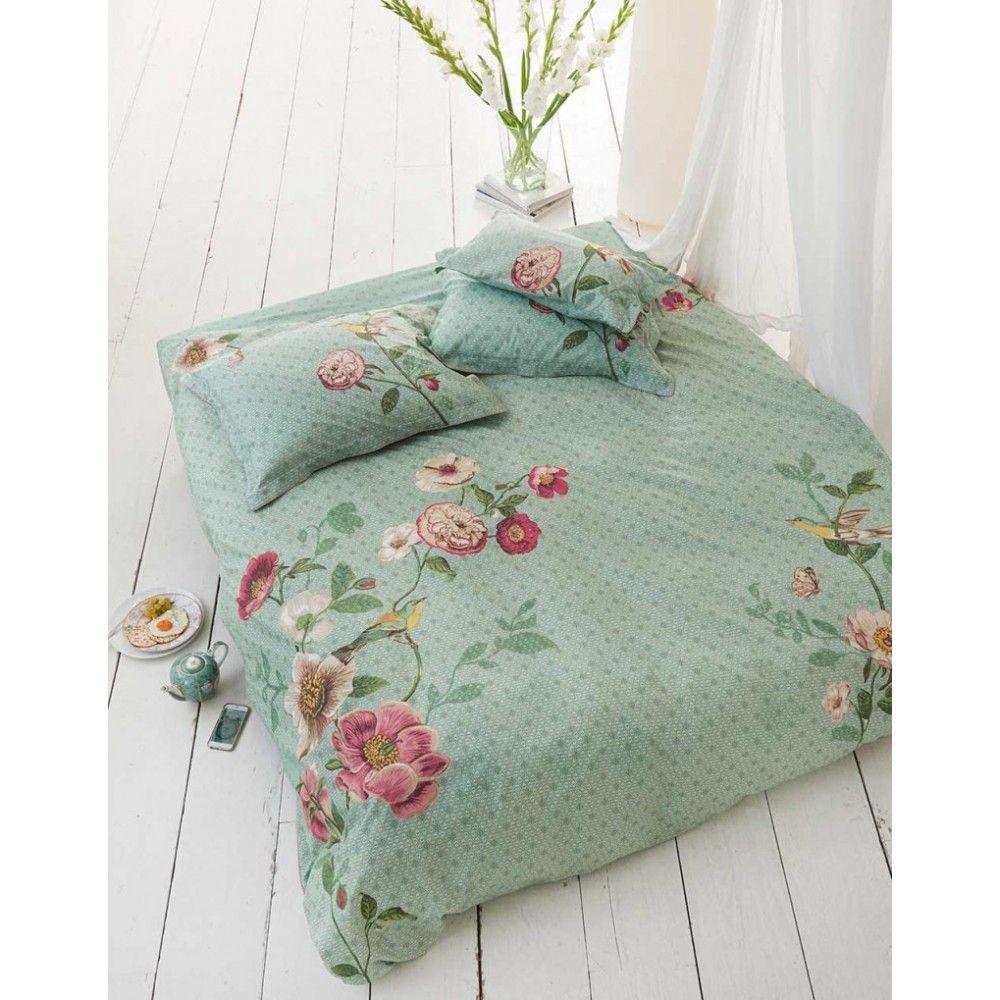 PiP dekbedovertrek Pip Poppy (groen)   slaapkamer ideeen   Pinterest