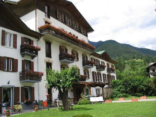 The Hotel Juventus in Auronzo Di Cadore, Italy near the