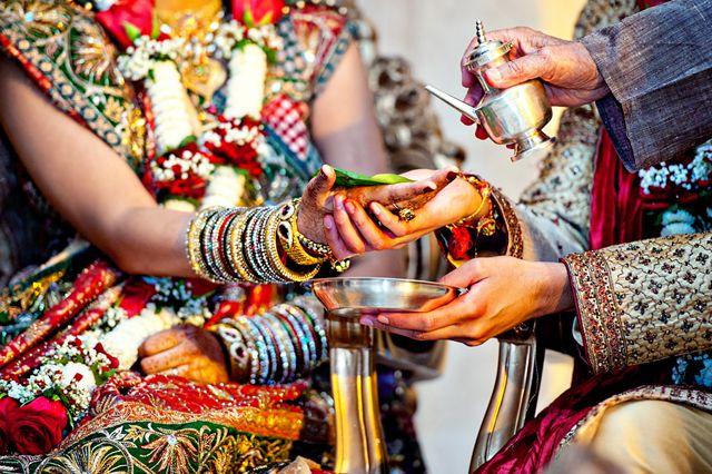 Una boda Hindú