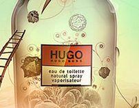 Hugo Boss: Desert Mirracle by Igor Scekic, via Behance