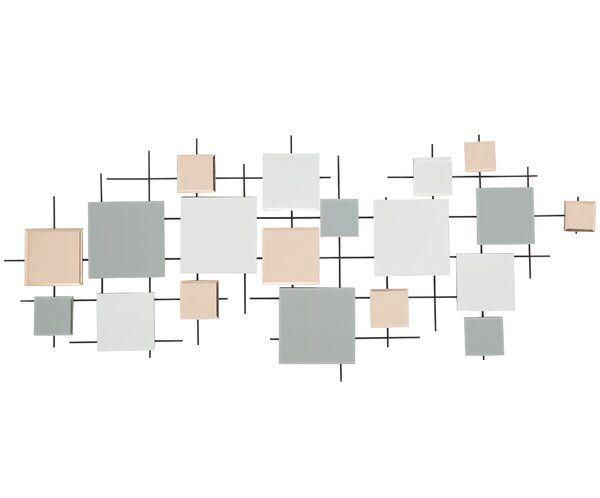 Viborg Multiple Decorative Modern & Contemporary Frameless Wall Mirror
