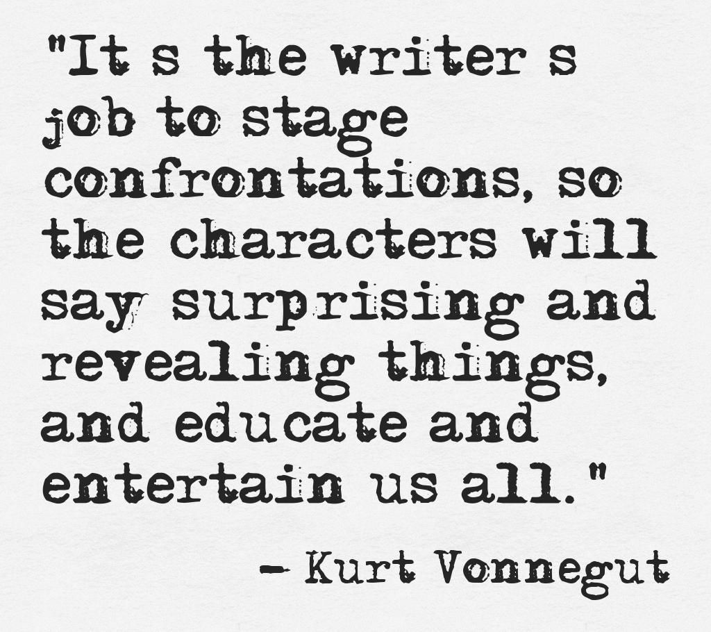 Writers Quotes Kurt Vonnegut  Quotes  Pinterest  Kurt Vonnegut Writing Quotes