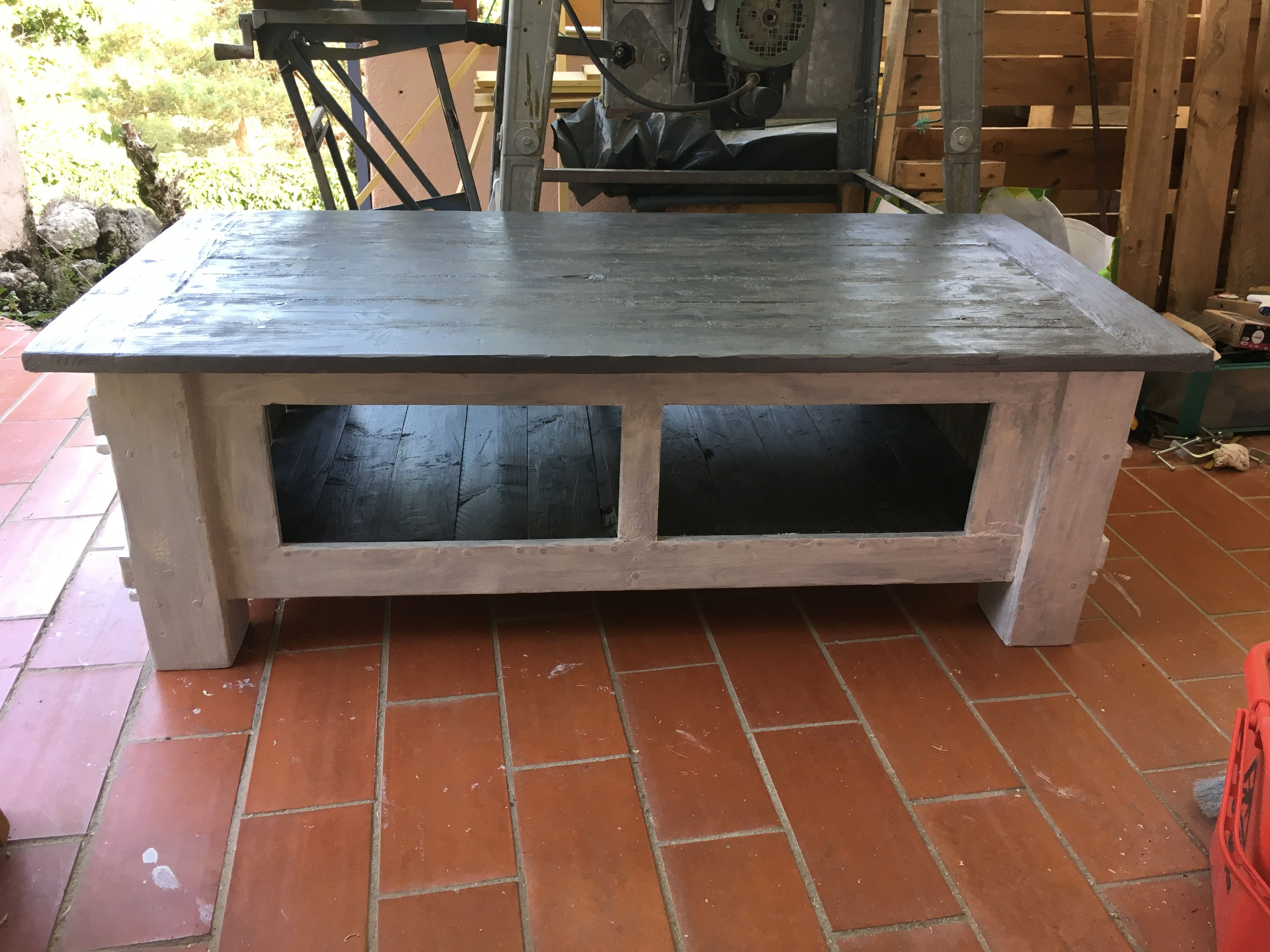 Table Basse Avec Parpaing diy avec palettes | table basse palette, table basse, table