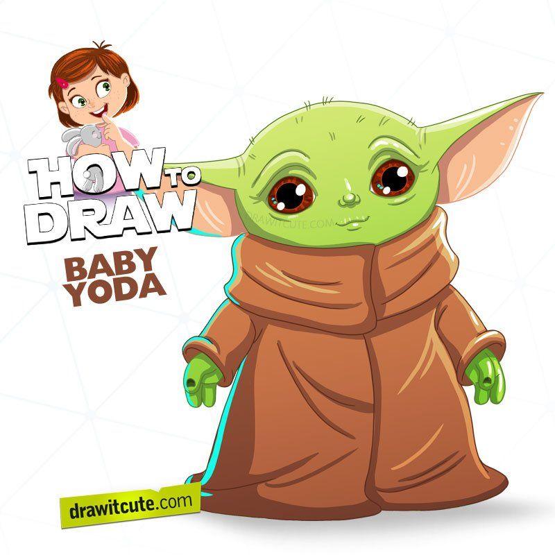 Draw It Cute (DrawItCute1) / Twitter Baby drawing, Yoda