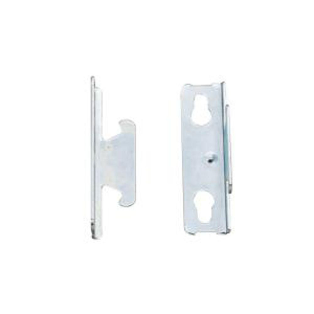 Home Decorators Collection Single Curtain Rod Bracket 2 Pack Single Curtain Rods Curtain Rod Brackets Curtain Rods