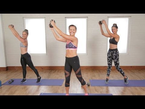 Tighten and tone your upper body in just 20 minutes. Grab a pair of light free weights and get ready to work. POPSUGAR Fitness offers fresh fitness tutorials...