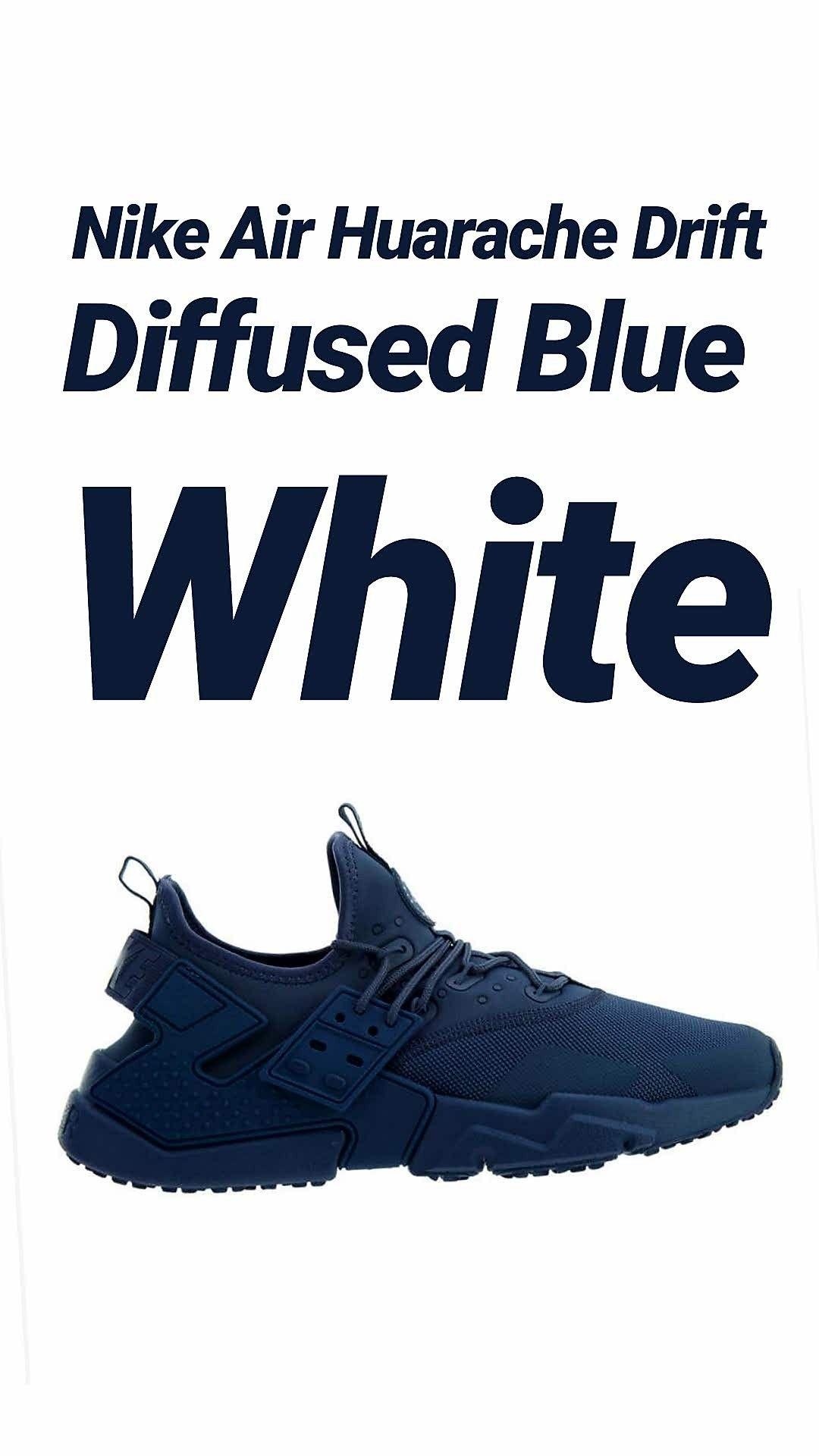 80793510e380 Nike Air Huarache Drift Diffused Blue White  120