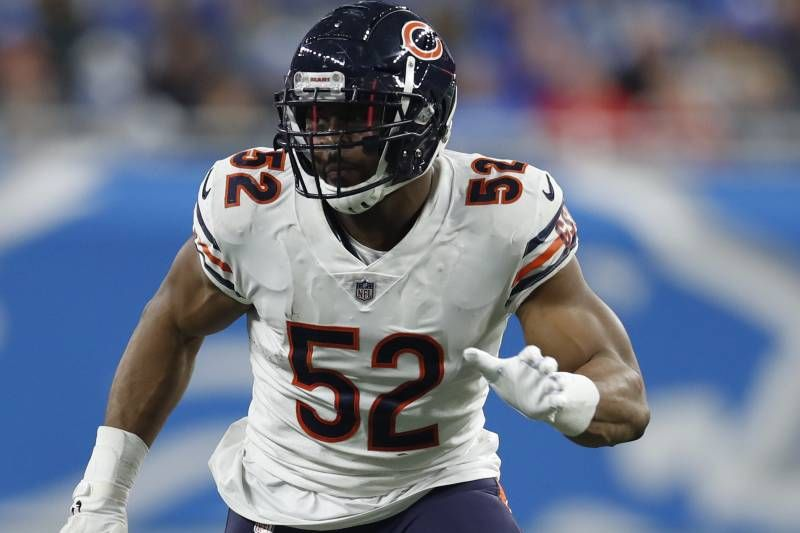 Bears Rumors Khalil Mack S Contract Restructured Creates 11m In Cap Space Mack Chicago Bears Salary Cap