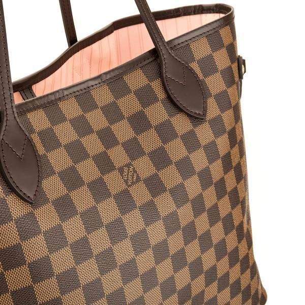 376999edfc9f Louis Vuitton Damier Ebene Canvas Neverfull MM Bag (Pre Owned) - 3924001