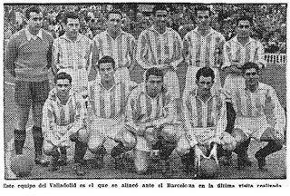 EQUIPOS DE FÚTBOL: REAL VALLADOLID 1950-51