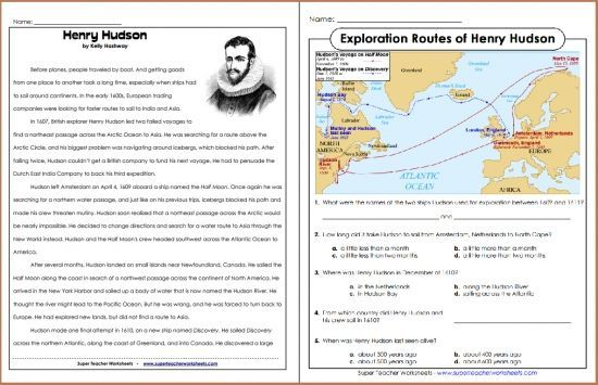 reading+comprehension+about+explorer - - Yahoo Image ...