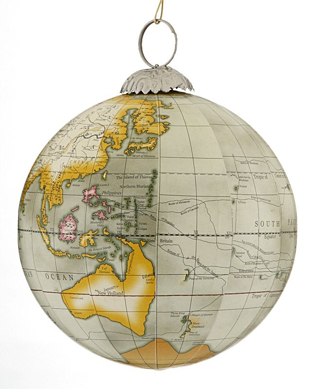 Buy world map globe grey personalized hobbies christmas buy world map globe grey personalized hobbies christmas ornaments gifts and decorations gumiabroncs Image collections
