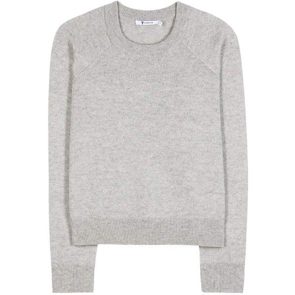 T by Alexander Wang Wool and Cashmere Cropped Sweater (515