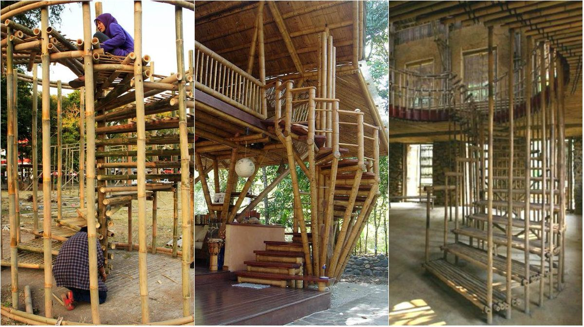 Bamboo As A Material For Building Stairs Building Stairs Stairs