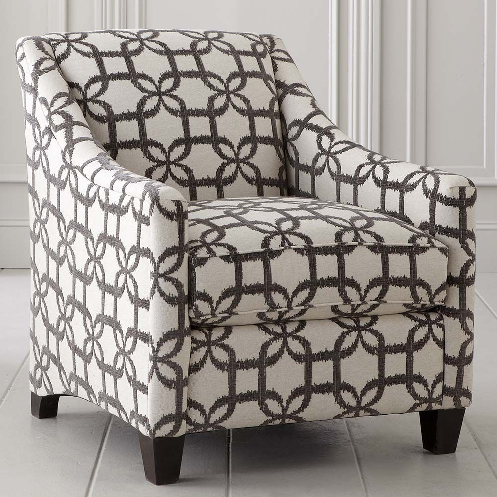 Leather accent chairs with arms - Accent Chairs