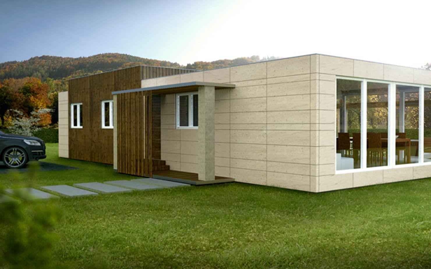 Moderne Fertighäuser für unter 69,000 € | Homestay | Fertighäuser ...