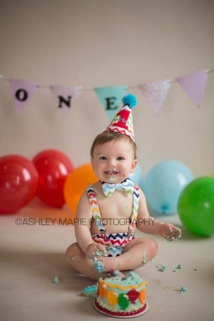 Monogram Bib First Birthday Party Outfit Custom Party Hat One Banner Smash Cake Birthday Set Diaper Cover Set Smash Cake Outfit
