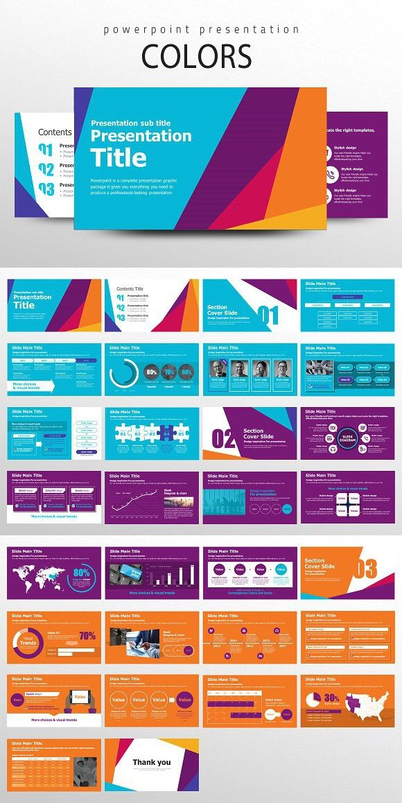 Colors. PowerPoint Templates. $24.00
