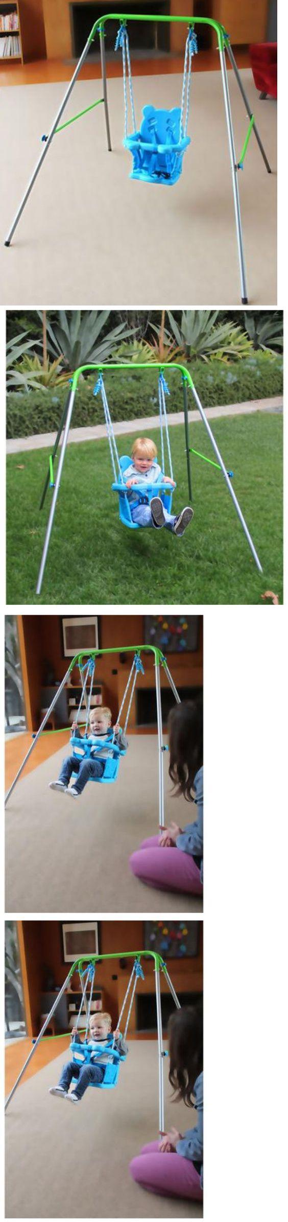 Baby Swings 2990 Indoor Outdoor Portable Baby Toddler Swing Set Kid