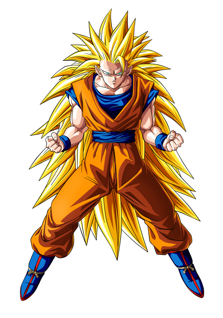 Goku super saiyan 3 ssj3 by goku kakarot anime - Goku vs vegeta super saiyan 5 ...