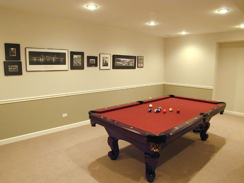 finished basement - Google Search | Design | Pinterest | Pool table ...