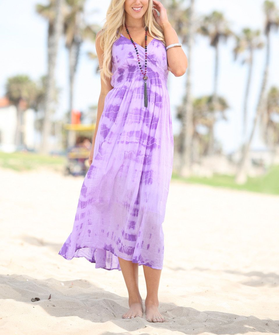 Another great find on zulily anandaus collection purple tiedye