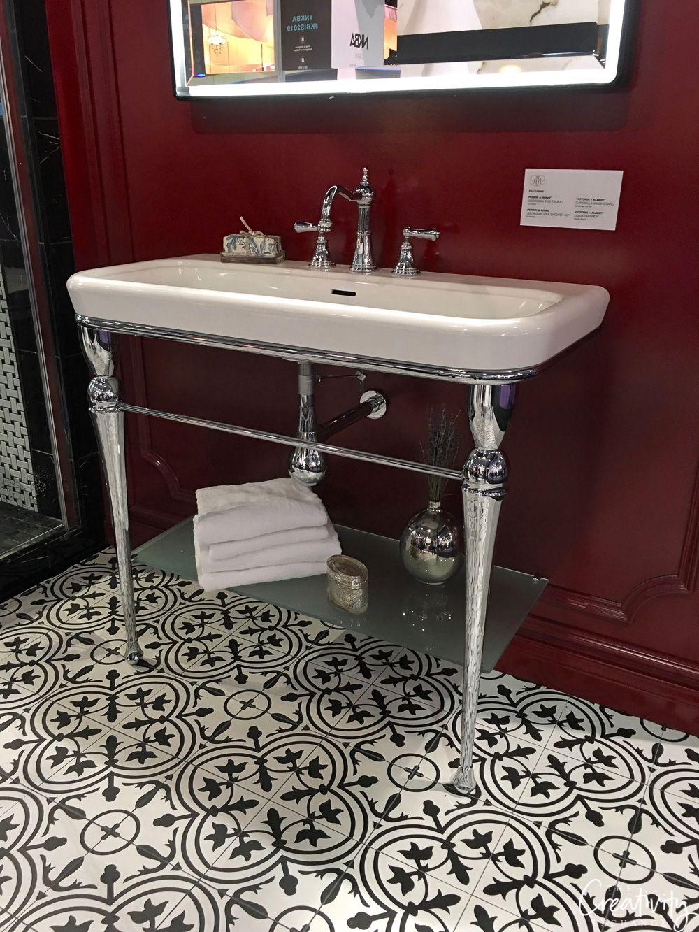 2019 Kitchen And Bath Industry Show In Las Vegas Sink Black Bathroom Bathroom Vanity